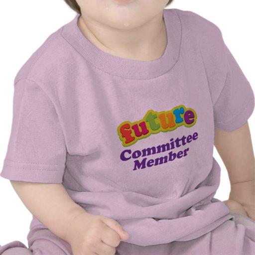 Camiseta infantil del bebé del miembro del comité