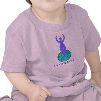 Camiseta infantil del bebé del niño de la diosa de