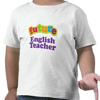 Camiseta infantil del bebé del profesor de inglés