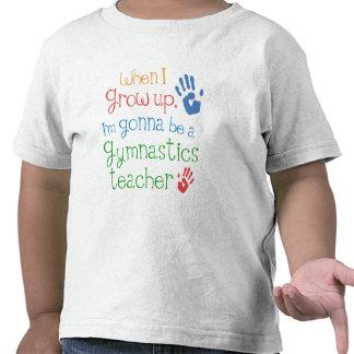 Camiseta infantil del bebé del profesor de la gimn