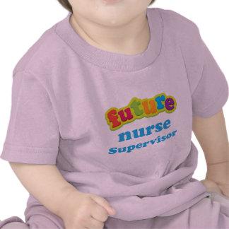 Camiseta infantil del bebé del supervisor de la en