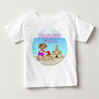 Camiseta infantil del castillo de arena (chica)