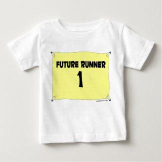 Camiseta infantil del corredor futuro playera