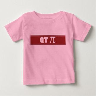 Camiseta infantil del cuarto de galón pi de la camisas