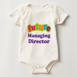 Camiseta infantil del director de gerente (futuro)