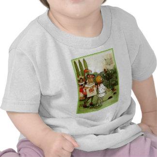 Camiseta infantil del gato de Chesire con la