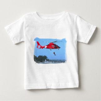 Camiseta infantil del interruptor del guardacostas playeras