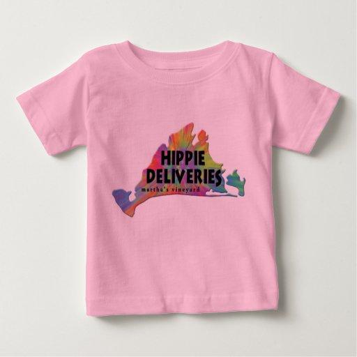 Camiseta infantil del logotipo del Hippie Remera