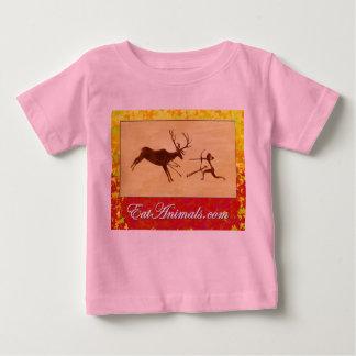 camiseta infantil del logotipo del otoño de playera