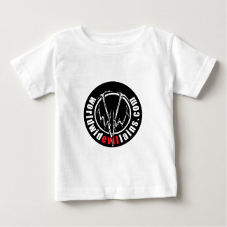 Camiseta infantil del logotipo redondo de WWV