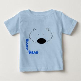 Camiseta infantil del oso del bebé playeras