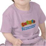 Camiseta infantil del profesor de economía (futuro
