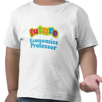 Camiseta infantil del profesor de economía futuro