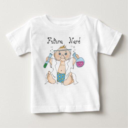 Camiseta infantil/empollón/muchacho futuros playera