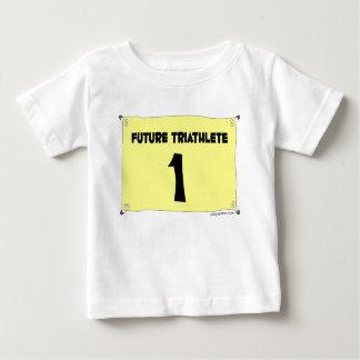 Camiseta infantil futura de Triathlete Camisas