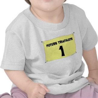 Camiseta infantil futura de Triathlete