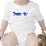 Camiseta infantil gemela