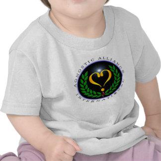 Camiseta infantil internacional agnóstica de Allia