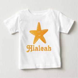 Camiseta infantil linda de las estrellas de mar de playeras