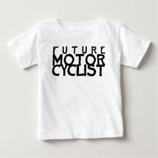 camiseta infantil: motorista futuro