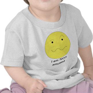 Camiseta infantil no divertida