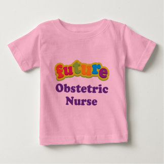 Camiseta infantil obstétrica del bebé de la
