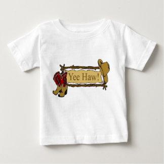 """Camiseta infantil occidental del Haw de Yee"" Playera De Bebé"