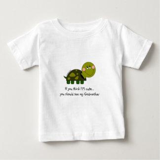 Camiseta infantil personalizada de la tortuga polera
