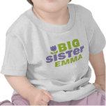 Camiseta infantil personalizada linda de la herman