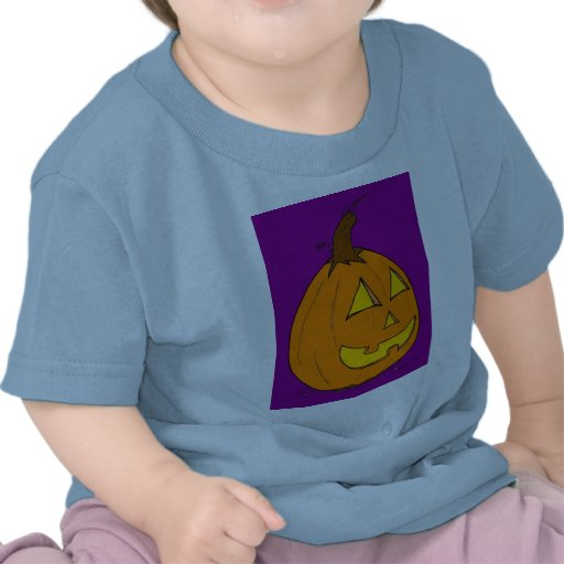 Camiseta infantil púrpura de la linterna del o de
