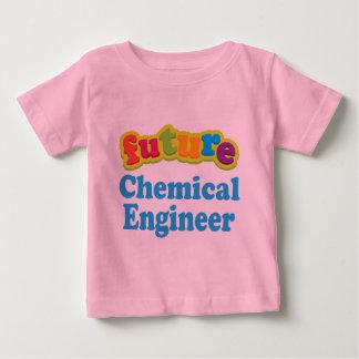 Camiseta infantil química del bebé del ingeniero