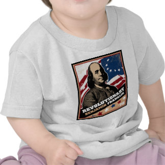 Camiseta infantil revolucionaria de Benjamin