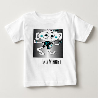 "¡Camiseta infantil ""soy un ganador! "" Playeras"