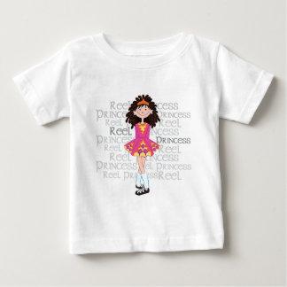 Camiseta infantil triguena del carrete playeras