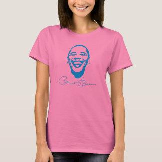 Camiseta infecciosa de la sonrisa de la firma de