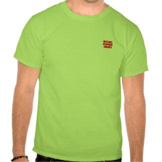Camiseta infectada serie del zombi de BVABC