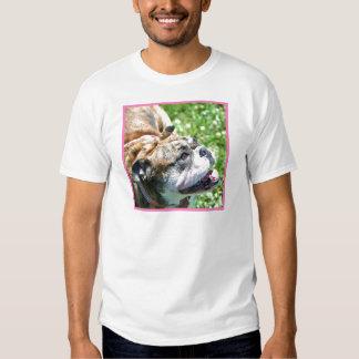 Camiseta inglesa del dogo playeras