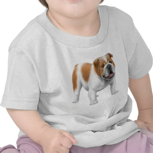 Camiseta inglesa del niño del dogo