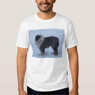 ¡Camiseta inglesa vieja del perro pastor - perro Poleras