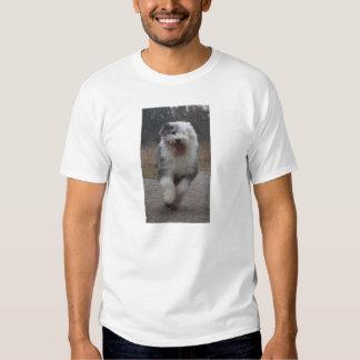 ¡Camiseta inglesa vieja del perro pastor - Poleras