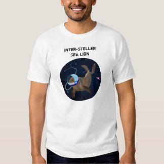 Camiseta Inter-Steller del león marino - blanco Remera