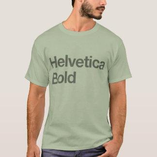 Camiseta intrépida Helvética