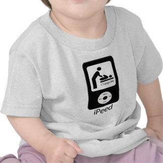 camiseta iPeed del niño/del niño