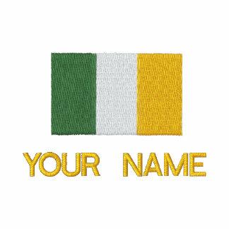 Camiseta irlandesa bordada personalizada de la sudadera con capucha