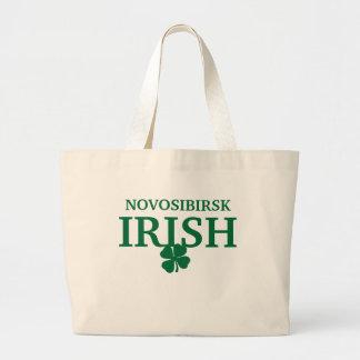 Camiseta irlandesa de encargo orgullosa de la ciud bolsas de mano
