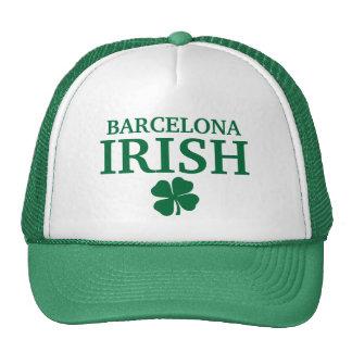 Camiseta irlandesa de encargo orgullosa de la ciud gorro de camionero