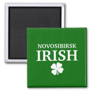 Camiseta irlandesa de encargo orgullosa de la ciud imán cuadrado