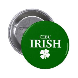 Camiseta irlandesa de encargo orgullosa de la ciud pin redondo 5 cm