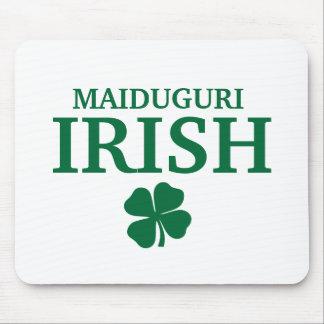 Camiseta irlandesa de encargo orgullosa de la ciud tapetes de raton