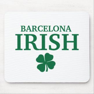 Camiseta irlandesa de encargo orgullosa de la ciud mouse pad